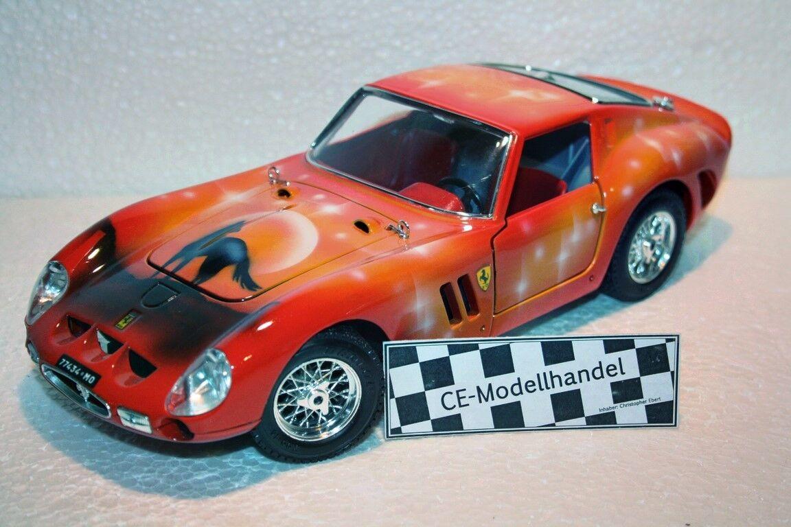 Ferrari 250 GTO  Aérographe   Cheval   1962  1 18  première réponse