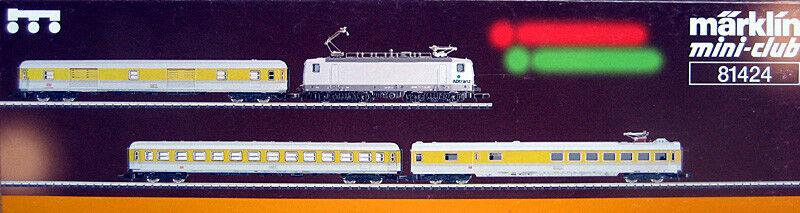 Z miniclub 81424; Messzug DB AG con ELLOK 143 Adtranz in scatola originale/f306