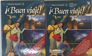 Details about Buen Viaje Spanish 3 Curriculum Student Teacher Edition  Homeschool High School