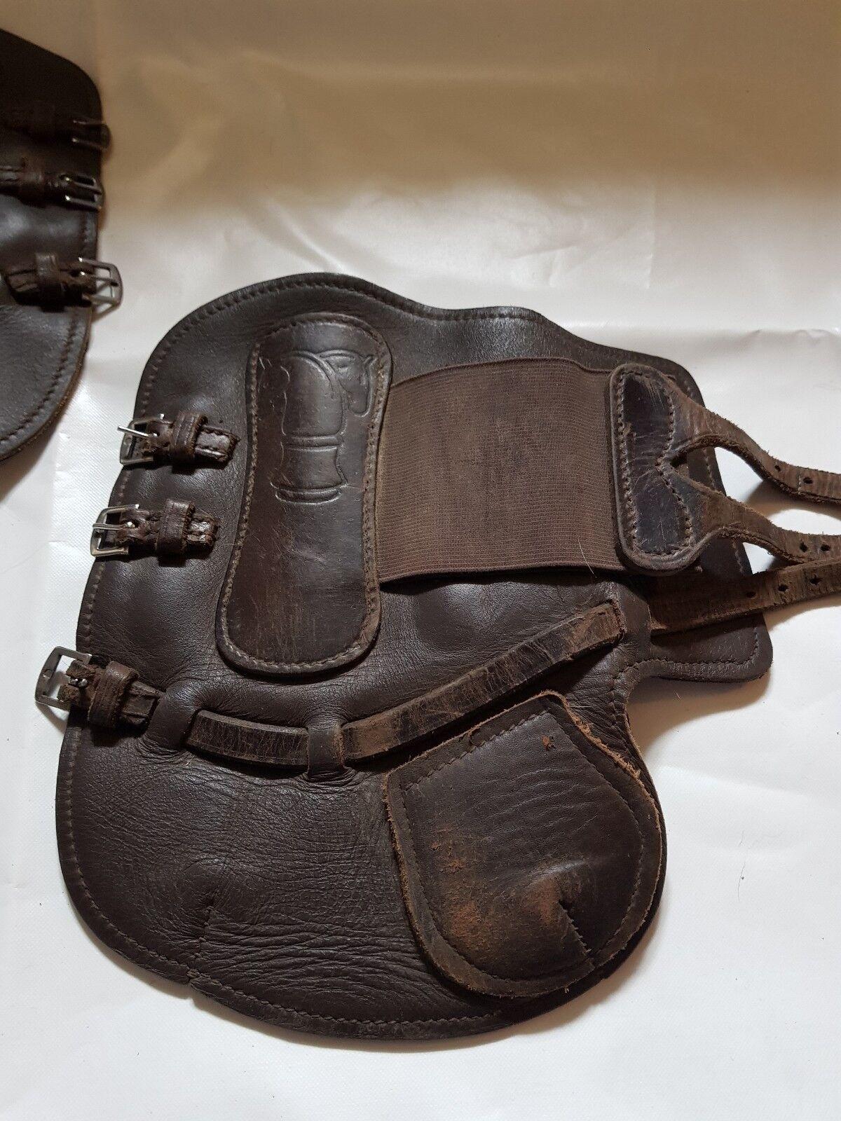 Sabre Tendón botas De Cuero Cuero Cuero Marrón 7570e1