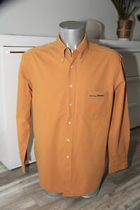 jolie-chemise-orange-HUGO-BOSS-SPORT-taille-XL-COMME-NEUVE