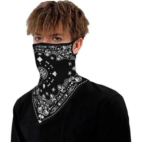 Motorcycle Face Covers Neck Warmer Tube Scarf Biker Ski Snood Balaclava Bandana