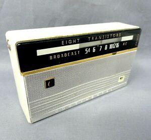 Vintage Continental TR-801 Transistor Radio w/case                   JVR31