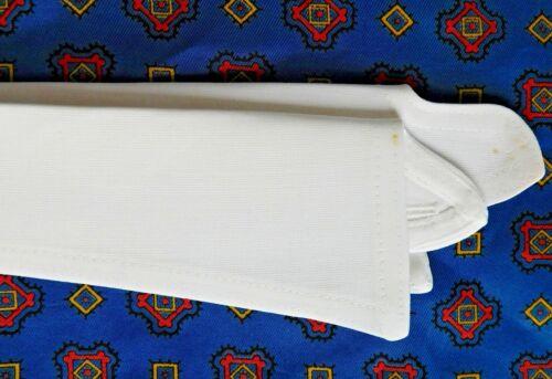 Van Heusen vintage shirt collar size 15 1//2 style 11 semi stiff cotton separate