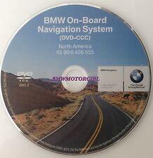 BMW NAVIGATION DVD DISC CD 2007.2 GPS MAP NAVAGATION DISK SERIES 3,5,7,M3,X5,