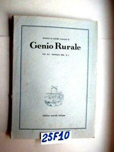 FERRARA-GENIO-RURALE-FEB-1949-N-1-VERSURO-FERRARESE-BONIFICHE-COMACC-25F10