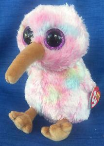 81404bd2ebf W-F-L Ty Beanie Boos Kiwi Bird 5 7 8in Glubschi Boo ´ S 8421362134 ...