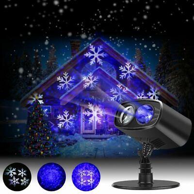 LED Projector Lights Christmas Spotlight Landscape ...