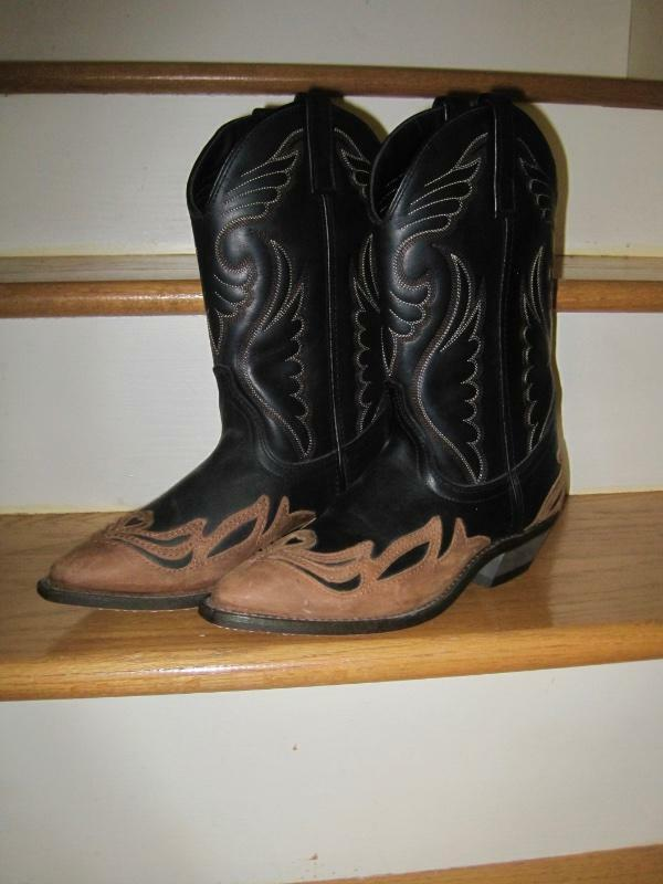 LADIES MASTERSON BOOT CO WESTERN LEATHER COWBOYCOWGIRL BOOTS7MNWT