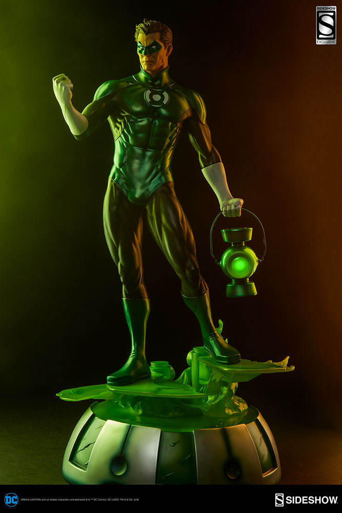 Sideshow Exclusive DC Green Lantern Hal Jordan Premium Format Figure NIB Light