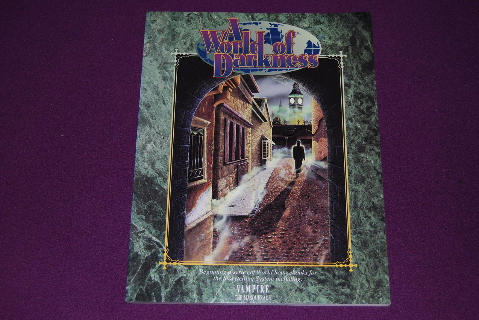 WORLD OF DARKNESS 1991 RPG JDR Jeu de Role - A World of Darkness 1ère Edition