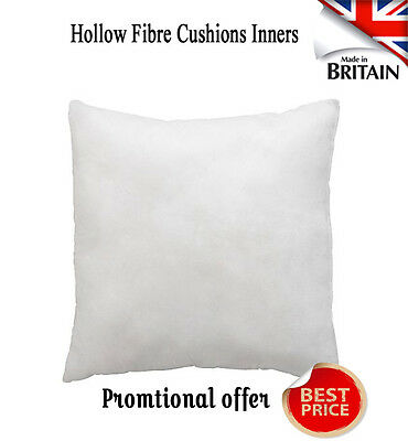 NEW Cushion Inners Hollow Fibre Fillers Scatters- All Size