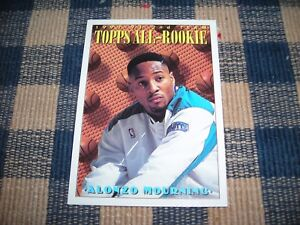 Details About 1993 Topps Basketball All Rookie Team Alonzo Mourning 177 Ex Condition