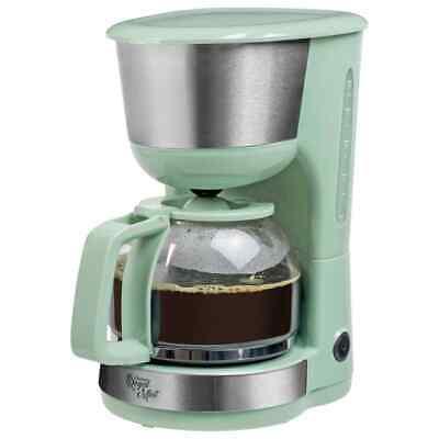 Bestron Cafetera 1000W Verde Mint Electrodoméstico Pequeño para Cocina Café | eBay