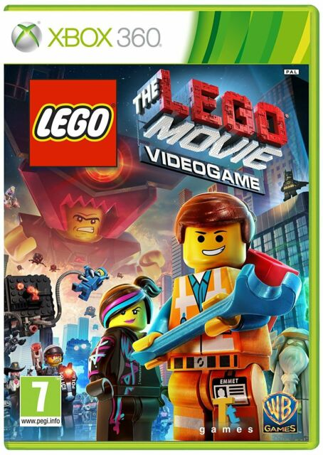 Xbox 360 Game the Lego Movie Video Game (Bestseller Version) New