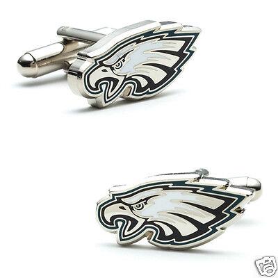 NFL Philadelphia Eagles Football Logo Cufflinks