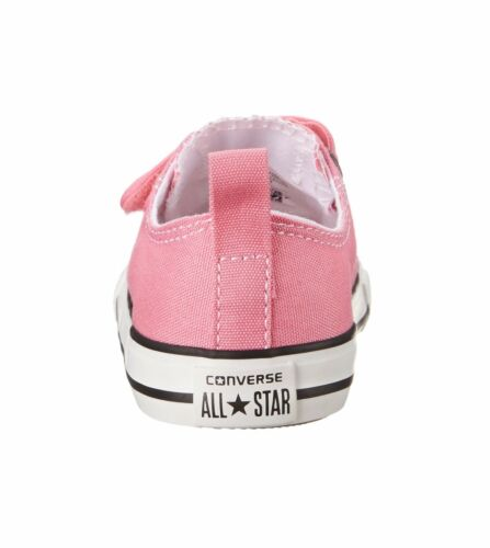 Converse Girls Chuck Taylor All Star 2V Infant Babies Toddler Shoes Pink//White