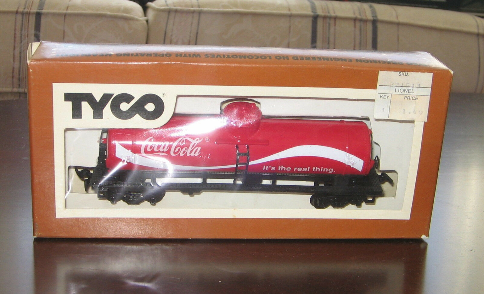 Tyco train pieces- train, caboose, tanker, cranes, & missile launcher- 12 pieces