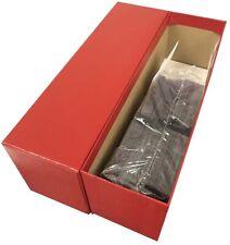 2.5x2.5 Vinyl Clear Coin Flips 500 Double Pocket Holders Bulk Deal By Safe T