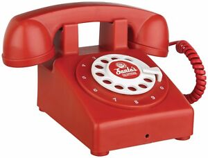 Vintage Christmas Santa's Telephone Delivers Calls and Phrases from North Pole