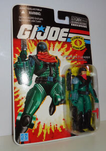 GI Joe Collector Club Subscription 8.0 Red Shadows RED LASER w//Corrected Stand