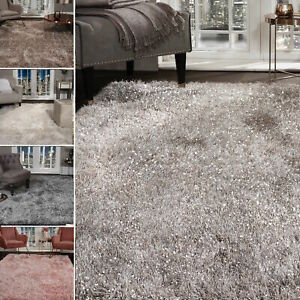 Shaggy-Rug-SHIMMER-SPARKLE-GLITTER-5-5cm-Thick-Soft-Pile-Large-Living-Room-Rugs