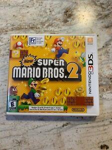 Nintendo 3ds New Super Mario Bros 2 Bundle Authentic Complete Ebay