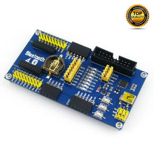 NEW-NRF51822-Eval-Kit-BLE4-0-Bluetooth-2-4G-Wireless-Module-BLE400-Mother-Board