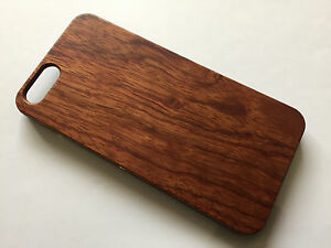 los angeles b1ac9 04af5 Details about Apple iphone 6 6s 4.7 100% Real wood Hard back case brown  wooden cover bamboo
