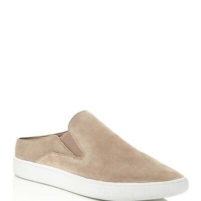 VINCE WOMENS VERRELL SUEDE SLIP-ON SNEAKERS