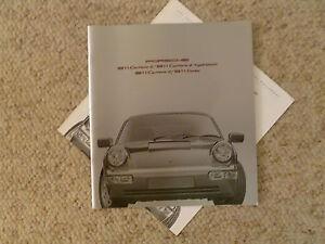PORSCHE OFFICIAL 944 964 911 TURBO 928 PRESTIGE SALES BROCHURE 1991 USA EDITION