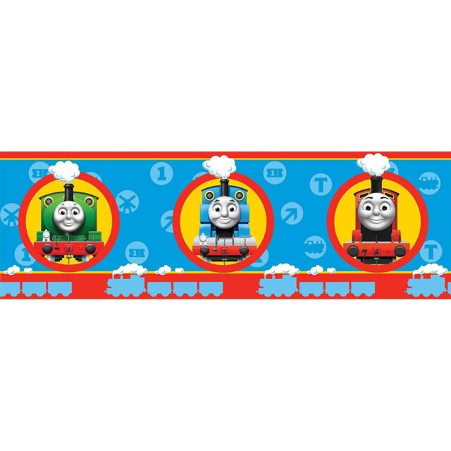 Thomas Tank Engine Friends Wallpaper Border 5 Metre Bedroom Nursery