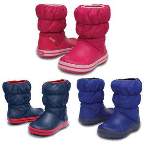 size 40 81de6 77971 Details zu Crocs Winter Puff Boot Kids Kinder Regenstiefel Gummistiefel  Schuhe NEU