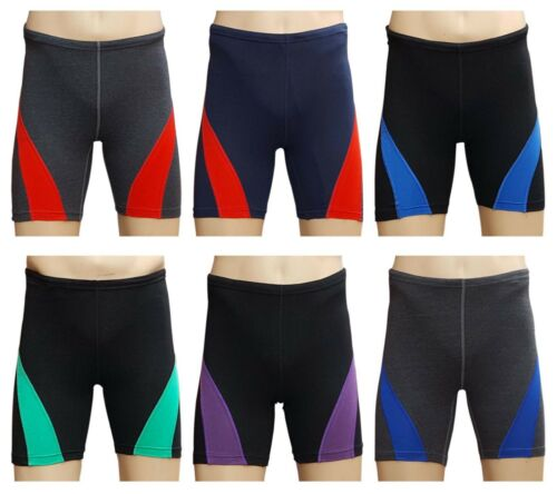 ACCLAIM Fitness Beijing Mens Cotton Lycra Soft Feel Running Fitness Train Shorts