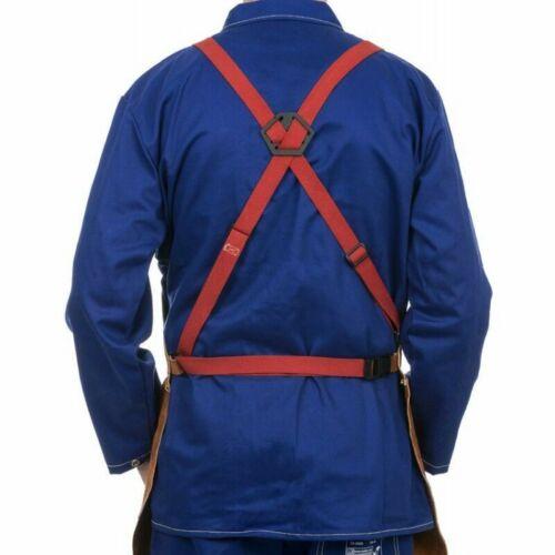 WELDAS Welding Bib Apron HIGH QUALITY Heavy Duty for Welder Protection