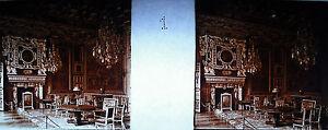 Plaque photo stéréoscopique photographie intérieur du château de Pau 1920 PH4 - France - Une fois l'objet reu, contactez le vendeur dans un délai de Frais de retour 14 derniers jours L'acheteur paie les frais de retour - France