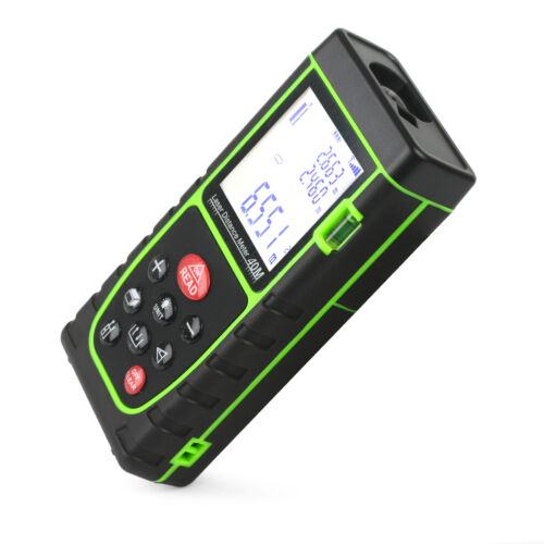 Digital Laser Distance Meter Rangefinder Measure Tape Diastimeter 40m//131ft fo