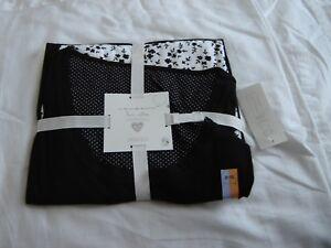 M-amp-S-Para-Damas-Chicas-Pijamas-Negro-Blanco-Talla-8-10