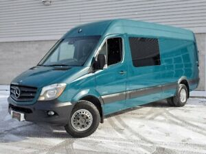 2014 Mercedes-Benz Sprinter Van 3500 DUALLY-RAISED ROOF-CAMERA INVERTOR-170 WB