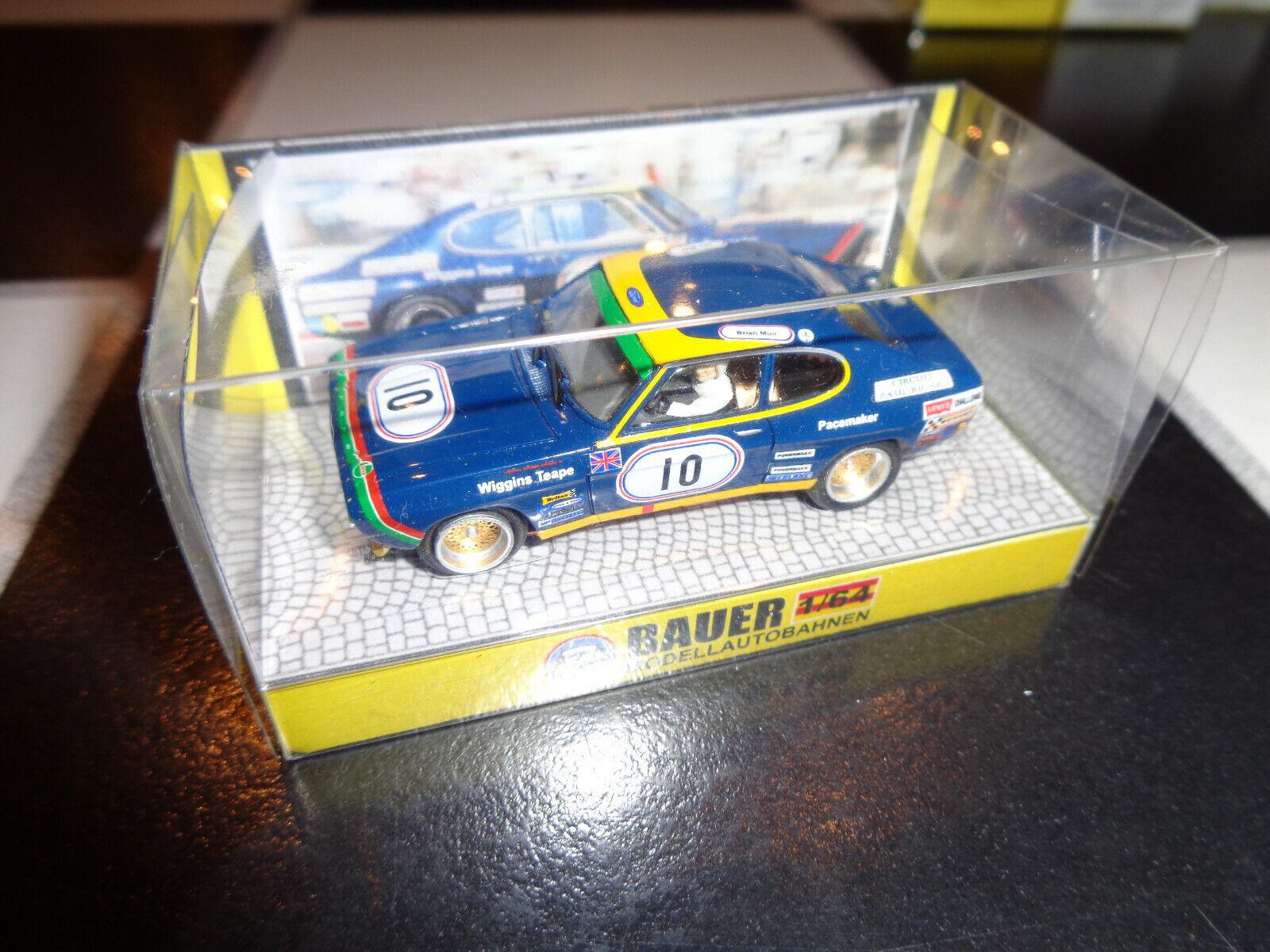 Bauer Modelllrennbahnen Auto für (Faller, AMS)  0961 Ford Capri RS2600