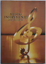 Musikinstrumente – Made in Germany