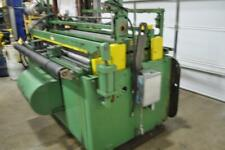 72 X 060 Rowe Straightener 020 060 Thickness Capacity Entry And Exit Pi