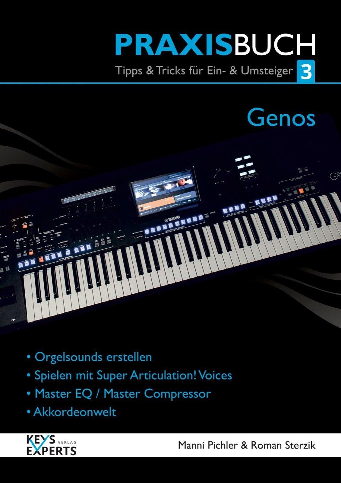 nuovo stile Das Praxisbuch per Yamaha Yamaha Yamaha Genos Tastiera Volume 3 130 Pagine Lingua Tedesco  benvenuto per ordinare
