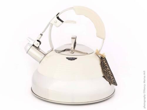 Flötenkessel Pfeifkessel Wasserkessel Teekessel Induktion Wasserkocher Retro 2 L