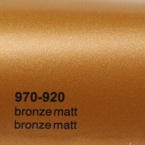 15 10 m oracal 970ra bronze matt metallic 920. Black Bedroom Furniture Sets. Home Design Ideas