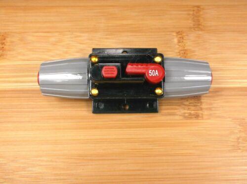 BBT Waterproof Manual Reset 50 amp Circuit Breaker