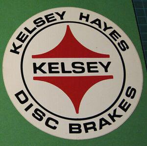 ORIGINAL-VINTAGE-KELSEY-HAYES-DISC-BRAKES-STICKER-DECAL-SCCA-TRANS-AM-RACING