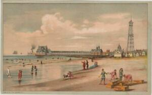 Victorian-Advertisement-R-W-Bell-French-Villa-Soap-Beach-Bathing-Beauties-8-x-5