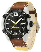 Reloj Para hombres Fecha de presentación Timberland Chocorua 13326 JPGYB/02 Cuero y Correa de Nylon
