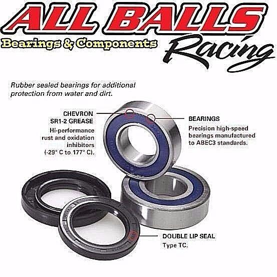 Front Wheel Ball Bearing and Seals Kit Fits HONDA CBR600RR 2003-2006